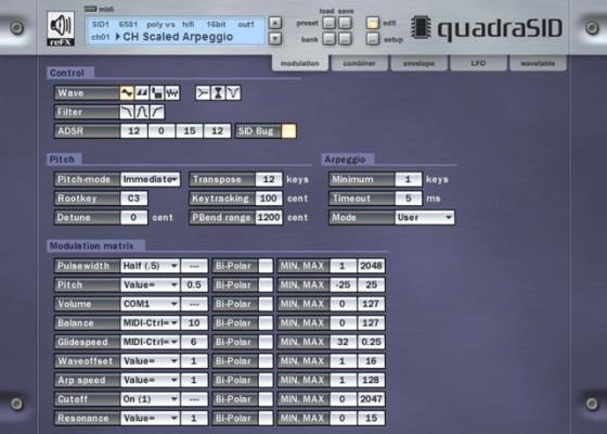 reFX QuadraSID Testbericht