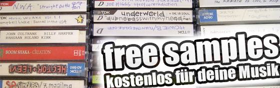 Free Samples, free Sample Packs, kostenlos, gratis Sounds