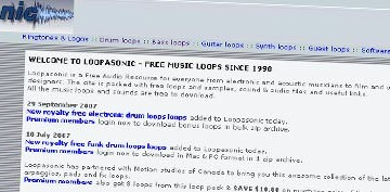 Free Loops zum Free Samples Saturday