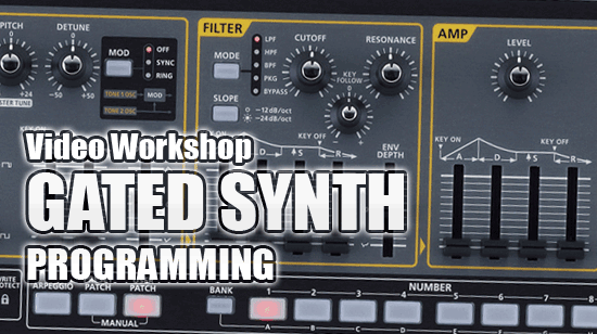 Gated Synth Video Workshop Tutorial