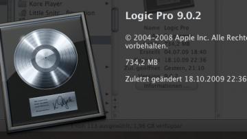 Einführung in Logic Studio 9 Tutorial