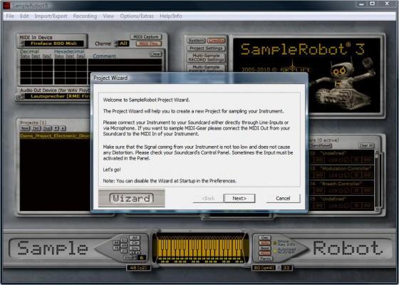SampleRobot Testbericht Projektassistent