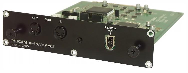 Tascam FireWire-Karte