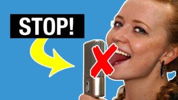 15 Fehler beim Vocal Recording