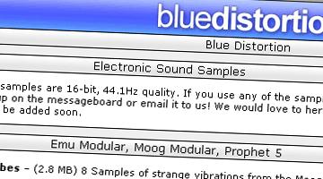 Free Samples kostenlos zum Download mit analogen Synthesizern