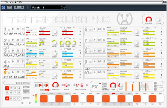 Free VST Plugin Tatapoum - Beat Making wie mit Redrum