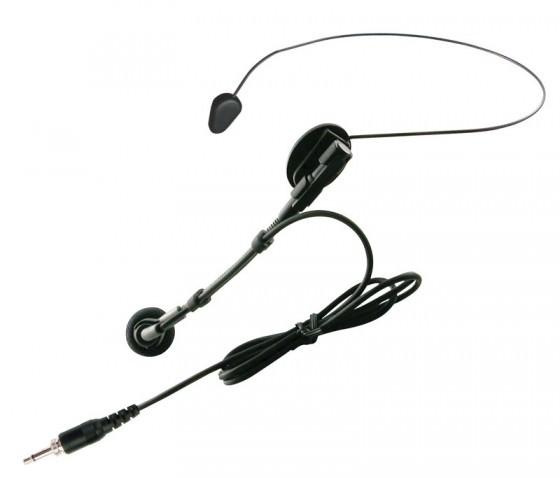 Drahloses Mikrofon mit Headset- und Lavalier Kombination
