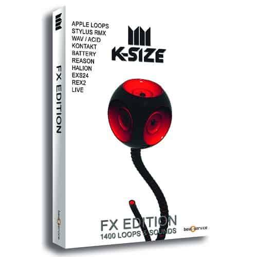 K-Size NoKick Edition mit Loops und Sounds sowie Bonusordner Kick Drums
