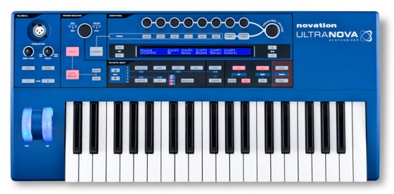 Novation UltraNova von oben
