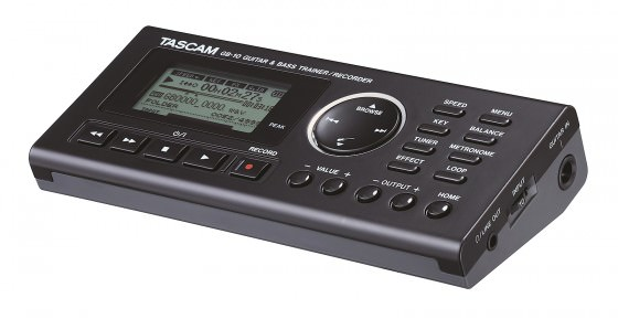 Tascam GB-10: Songs einfacher lernen mit dem Recorder und Trainer