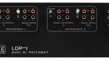 Luke LDP-1 Dual Patchbay DJ-Equipment