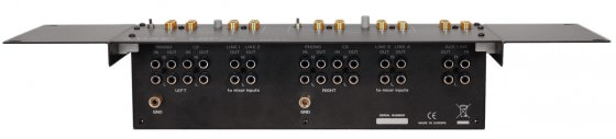Rückseite Luke LDP-1 Dual Patchbay DJ-Equipment
