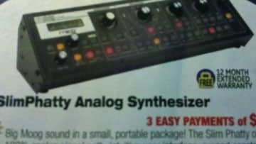 Moog SlimPhatty analoger Synthesizer