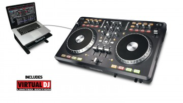 Numark Mixtrack Pro DJ-Equipment mit DJ-Software und Hardware