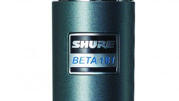 Shure Beta 181: Kleinmembran-Kondensator-Mikrofon