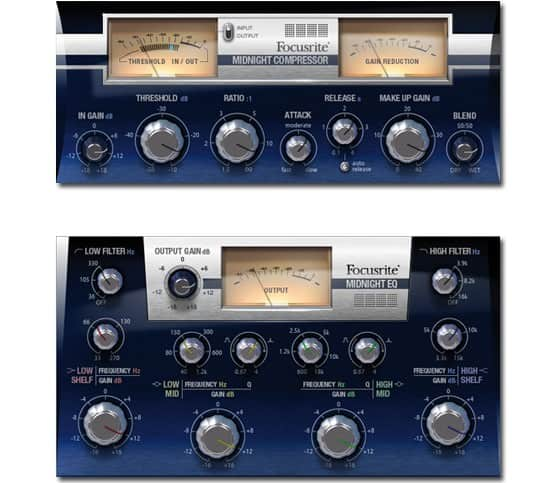 Focusrite Midnight Plugin Suite