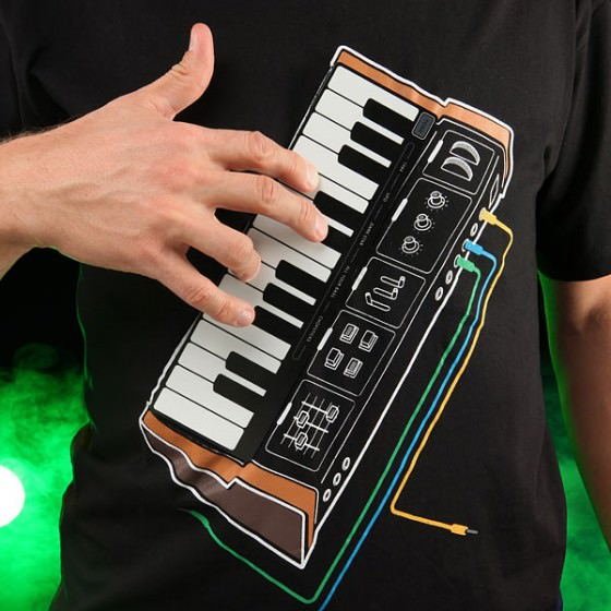 ThinkGeek Electronic Music Synthesizer Shirt