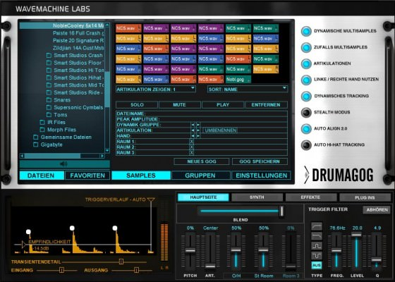 Drumagog 5 Drum Replacement Plugin