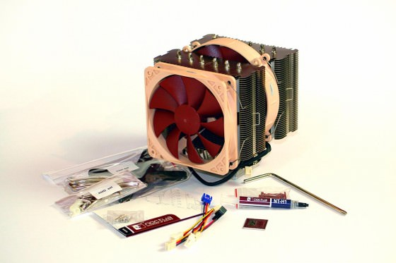 Noctua NH-D14 CPU-Kühler delamar Audio Computer