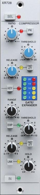 Solid State Logic X-Rack Stereo Dynamics Module