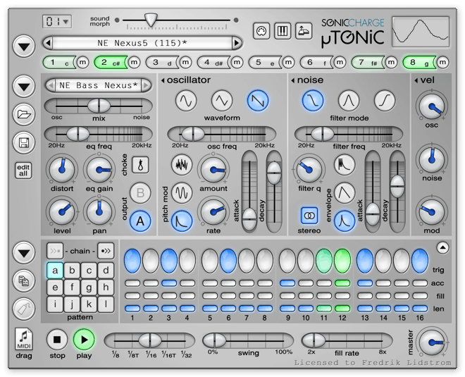 Sonic Charge µTonic 3.0