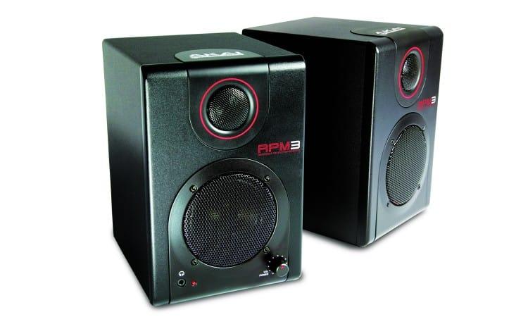 Akai RPM3 USB Studiomonitore mit Audio Interface