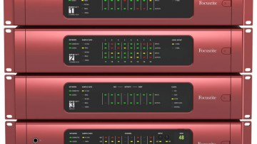 Focusrite RedNet Audio Interface System Vorderseite