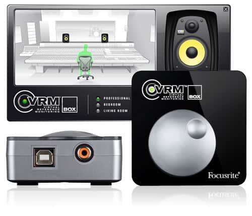Focusrite VRM-Box Kopfhörer Monitoring Lösung