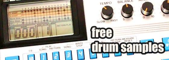 Free Drum Samples Drum Machine