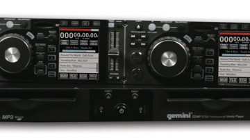 Gemini CDMP-2700 DJ-Controller Media Player