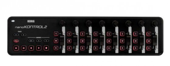 Bild des Korg nanoKontrol2 Controller