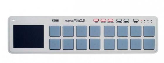 Korg nanoPad2 Controller Bild