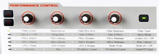 Performance Control Matrix / M-Audio Venom Testbericht Review