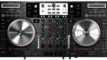Numark NS6 DJ Controller mit 4 Decks