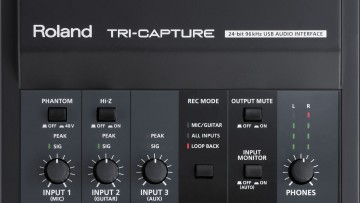 Roland Tri-Capture USB Audio Interface