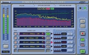 Sonnox Fraunhofer Pro-Codec Mastering Plugin