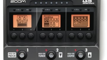 Zoom G3 Gitarreneffekgerät undn Amp-Simulator