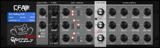CFA-Sound MonoGrizzly