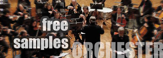 Free Orchestra Samples: Kostenlos Orchester Samples