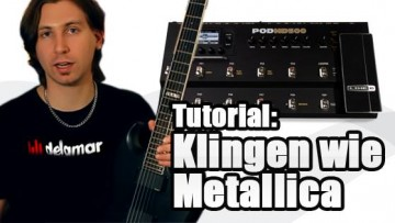 Metallica Sound - Klingen wie Metallica auf dem Black Album