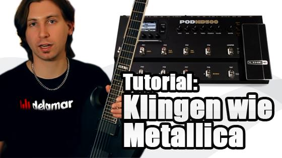 Metallica Sound - Klingen wie Metallica auf dem Black Album