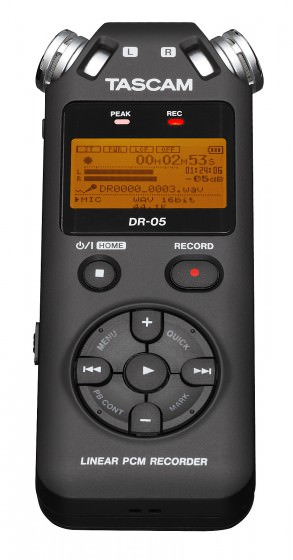 Tascam DR-05 Field Recorder