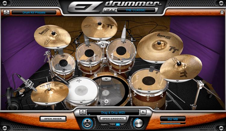 Toontrack The Classic EZX Erweiterung mit drei Drum Kits