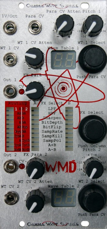 WMD Gamma Wave Source