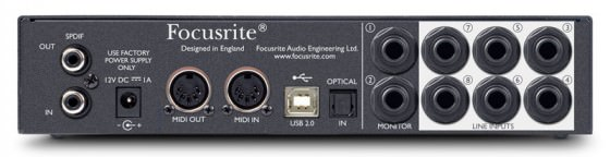 Focusrite Scarlett 18i6 USB Audio Interface