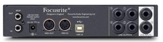 Focusrite Scarlett 8i6 USB Audio Interface