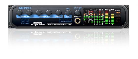 Motu Audio Express Audio Interface mit 6 Eingängen und 6 Ausgängen