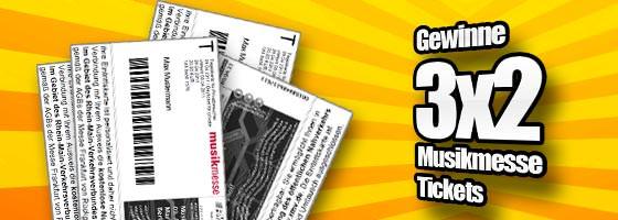 Musikmesse Eintrittskarten: Tickets für den Besuchersamstag
