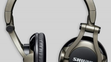 Shure SRH550DJ: DJ Kopfhörer