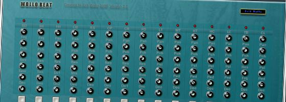 Beat Making Software Wollo Beat free VST Drum Machine